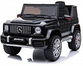 Электромобиль Mercedes-Benz G63 AMG Black 12V - BBH-0002