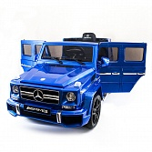 Детский электромобиль Mercedes Benz G63 LUXURY 2.4G - Blue - HL168-LUX-BLUE